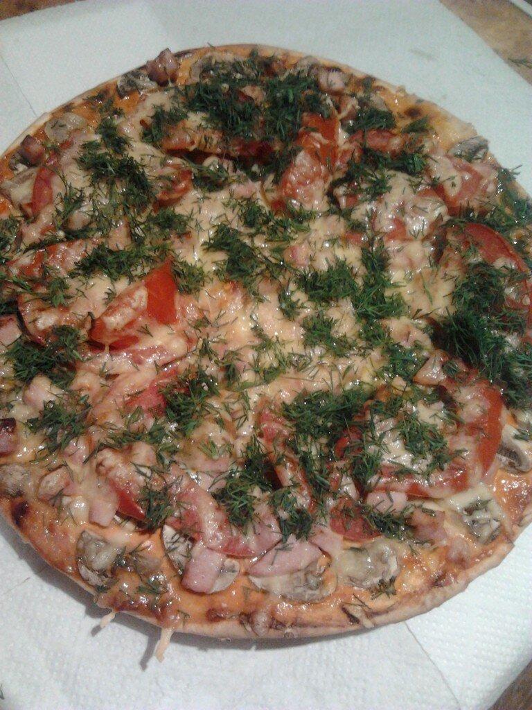 рецепт пиццы в булочках рецепт с фото