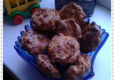 вкусные творожные кексы в силиконовых формах, простой рецепт