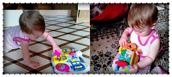 игрушки малышам 2 лет