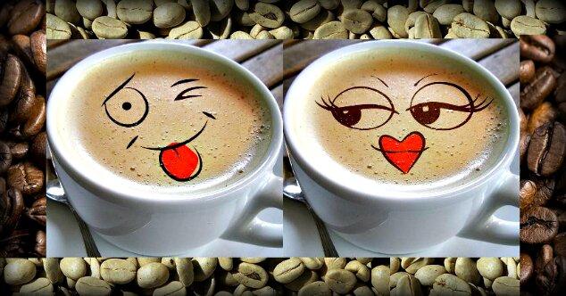 кофе поцелуйчик 1