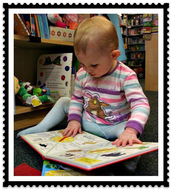 чтение книг детям